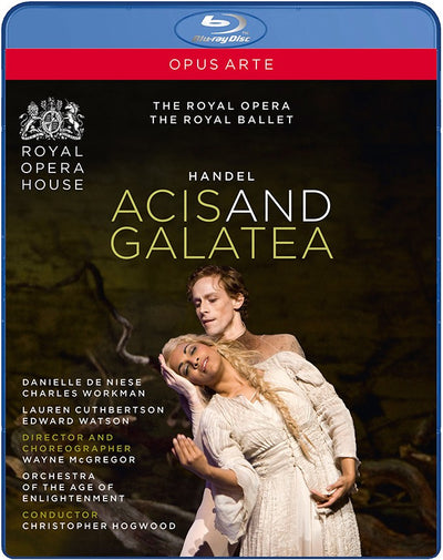 Acis and Galatea Blu-ray (The Royal Opera / The Royal Ballet)