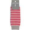 Children's Red & Pink Stripe Leg Warmers