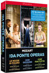 Mozart: The Da Ponte Operas Blu-ray Set (The Royal Opera)