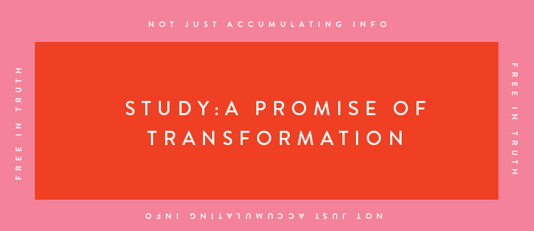 Study: A Promise of Transformation