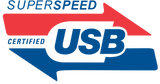 Superspeed certified USB Logo
