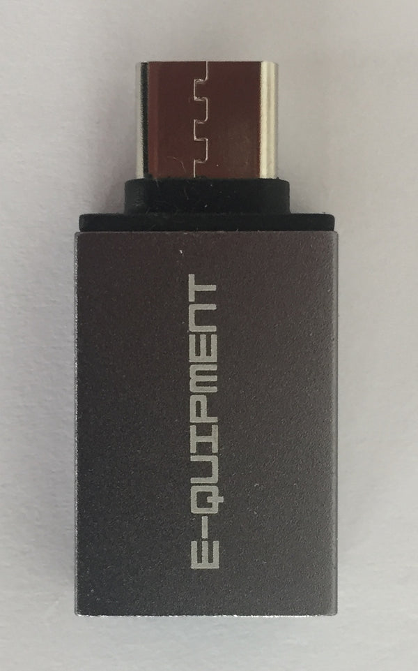 USB-Type C adapter voor USB Harde Schijven en USB Sticks | E-QUIPMENT