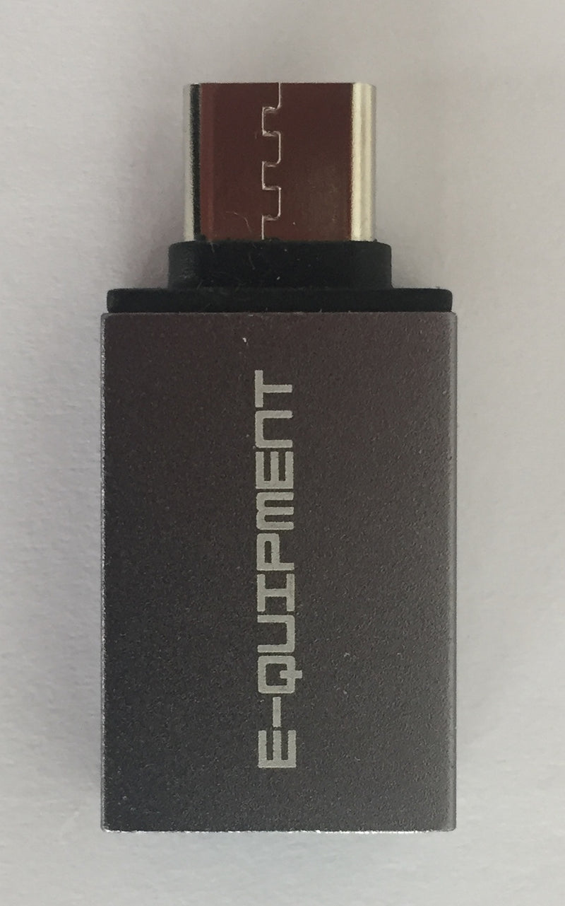 USB-Type C adapter voor USB Harde Schijven en USB Sticks - E-quipment