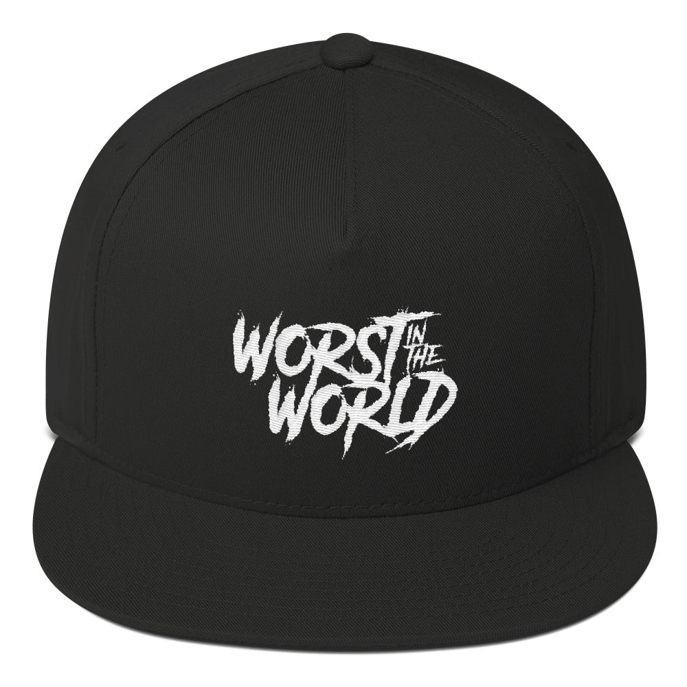 Worst In The World Grunge 5 Panel Snapback