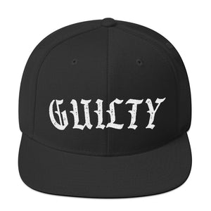 Guilty Snapback Hat
