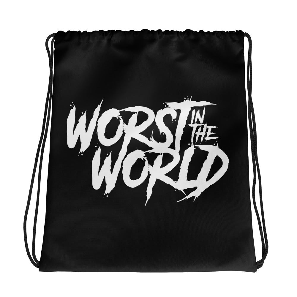 Worst In the World Drawstring Bag