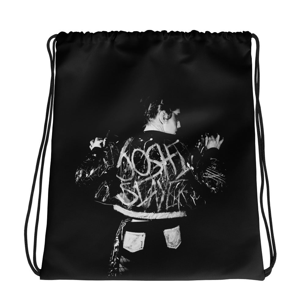 Cat Power Drawstring Bag