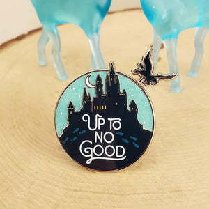 No Good Slider Enamel Pin