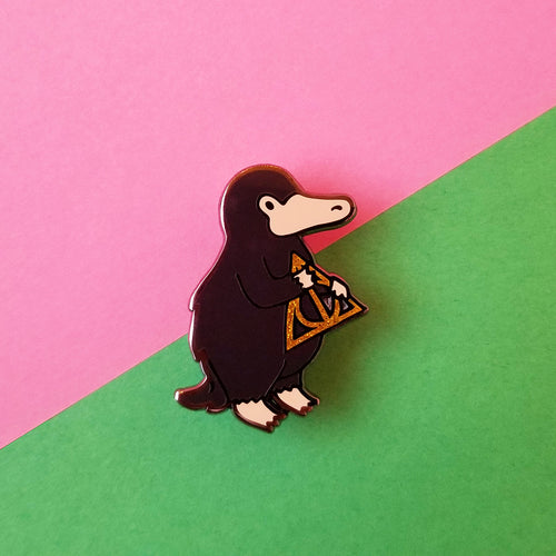 'Allows Magical Creature Enamel Pin