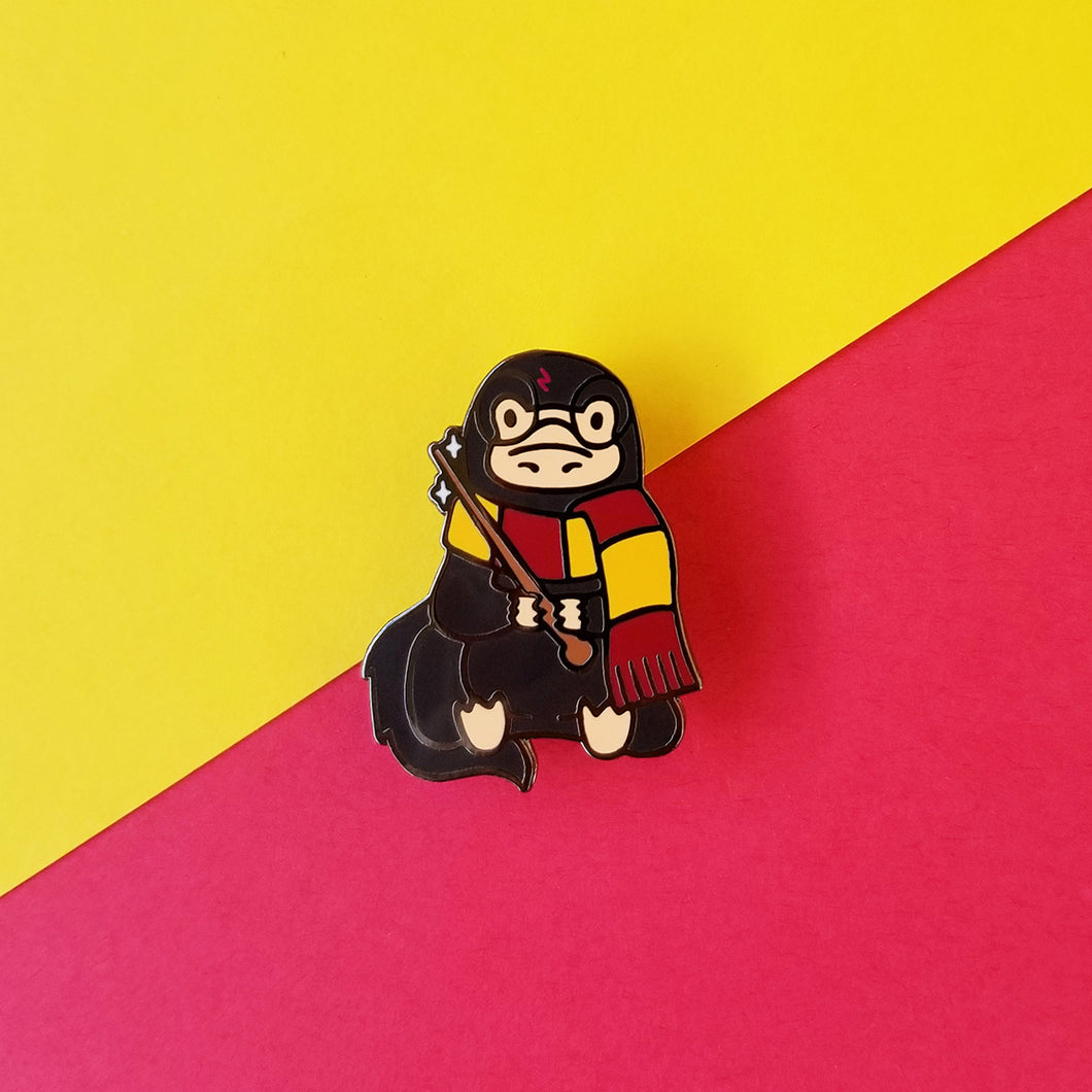 The Magical Creature Who Lived Enamel Pin