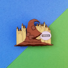 Load image into Gallery viewer, V2 Magical Hat Spinner Enamel Pin
