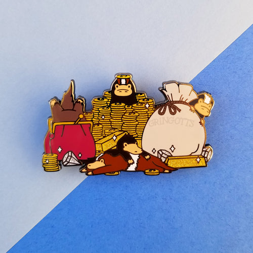 Baby Magical Creature Treasure Pile Enamel Pin