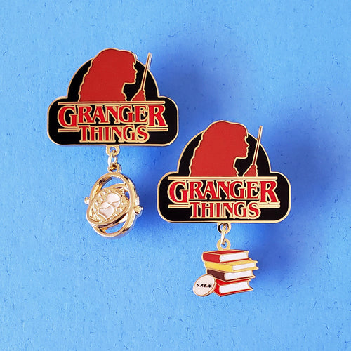 Granger Things Enamel Pin