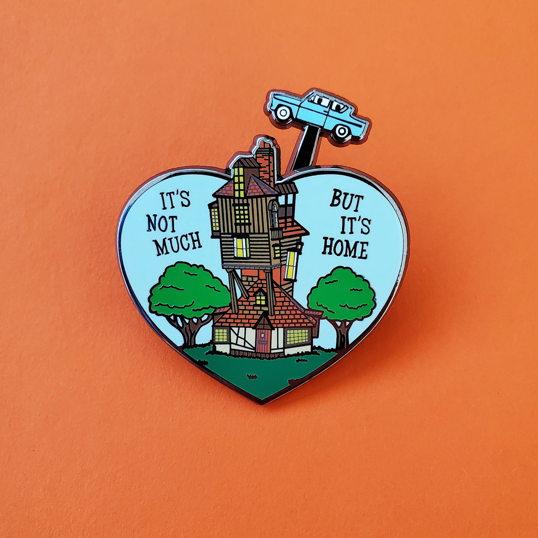 But It's Home Slider Enamel Pin