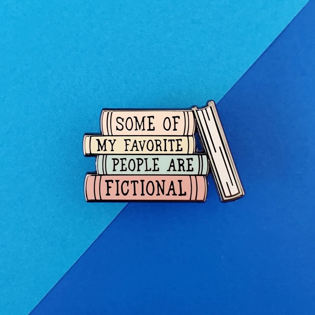Favorite People Pastel Enamel Pin