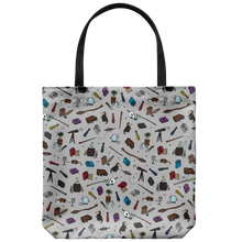 Load image into Gallery viewer, Wizarding School Subjects Tote Bag