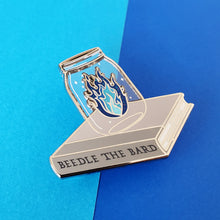 Load image into Gallery viewer, Blue Fire Enamel Pin