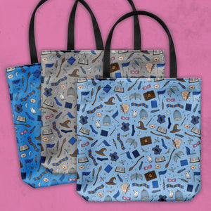 'Claw Print Tote Bag