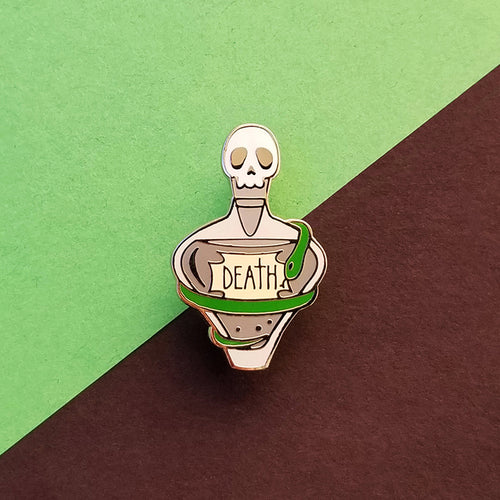Death Potion Enamel Pin