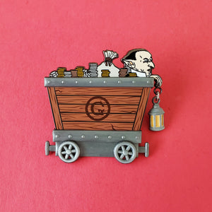 Goblin Cart Enamel Pin
