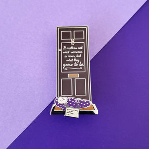 Grow To Be Enamel Pin