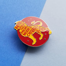 Load image into Gallery viewer, Lion House Pride Red Enamel Pin