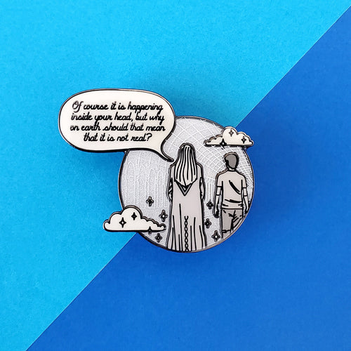 Inside Your Head Enamel Pin