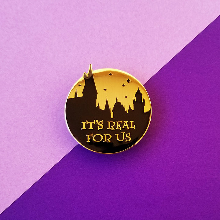 Real For Us Enamel Pin