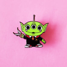Load image into Gallery viewer, Wizard Toy Alien Enamel Pins