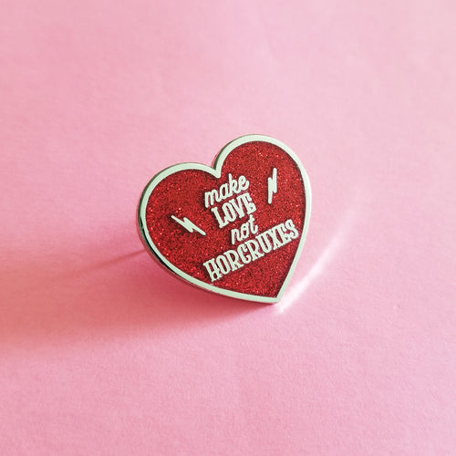 Make Love Enamel Pin