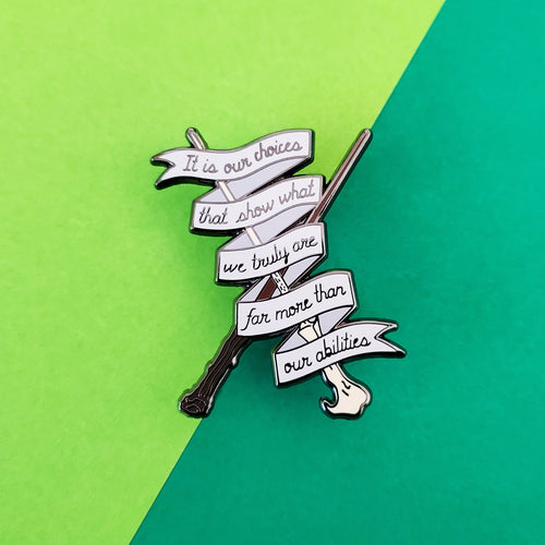 Our Choices Enamel Pin