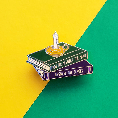 Potion Books Enamel Pin