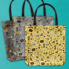 Load image into Gallery viewer, 'Puff Print Tote Bag
