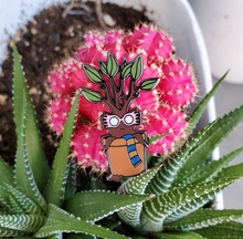 Load image into Gallery viewer, Magic Specs Potted Plant Enamel Pin