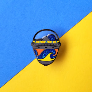 Sneakoscope Enamel Pin