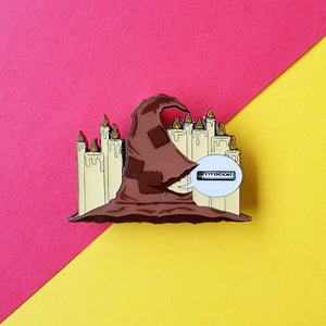 Magical Hat Spinner Enamel Pin