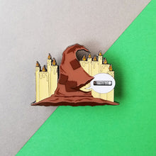 Load image into Gallery viewer, Magical Hat Spinner Enamel Pin