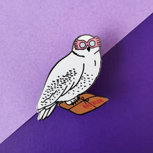 Load image into Gallery viewer, Magic Specs Owl Enamel Pin