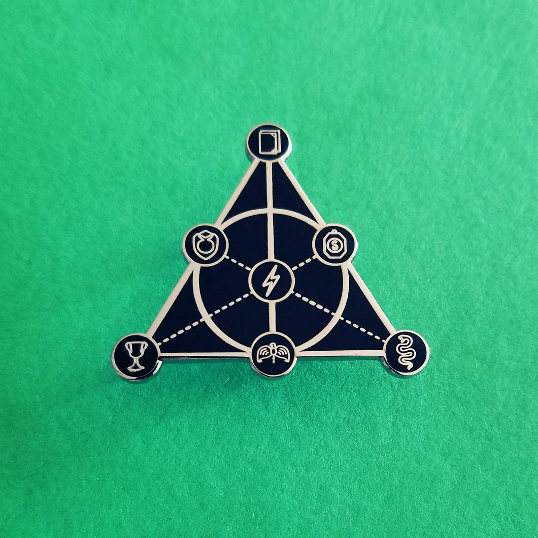 'Allows and 'Cruxes Enamel Pin