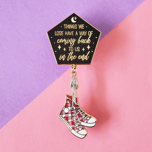 Things We Lose Enamel Pin