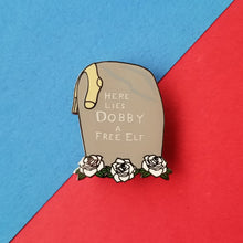 Load image into Gallery viewer, Free Elf Tombstone Enamel Pin