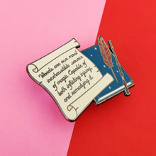 Load image into Gallery viewer, Words Are Enamel Pin