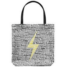 Load image into Gallery viewer, Magic Spells Bolt Tote Bag