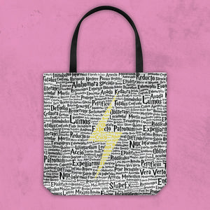 Magic Spells Bolt Tote Bag