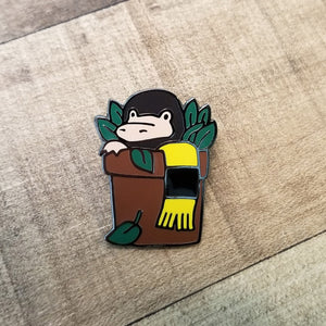 Badger House Magical Creature Enamel Pin
