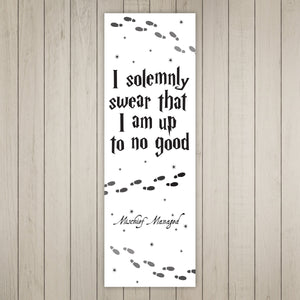 No Good Printable Bookmarks