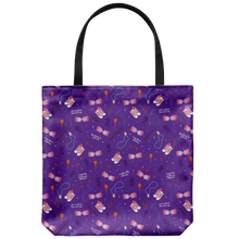 Load image into Gallery viewer, Luna Print Tote Bag