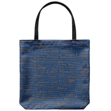 Load image into Gallery viewer, Magic Spells House Colors Tote Bag