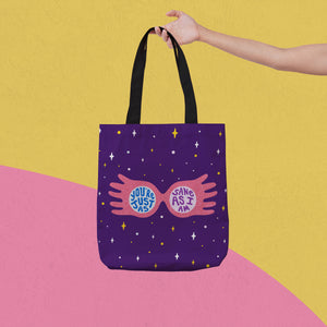 You're Just As Sane As I Am Spectrespecs Tote Bag