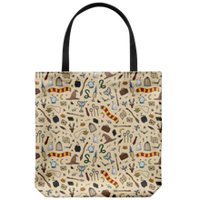 Load image into Gallery viewer, Wizarding Objects Tote Bag